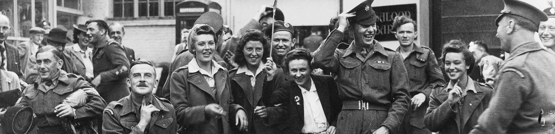 Slideshow image: World War II