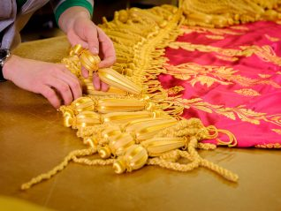 Luxuriant hand made  tassels | Royal Pavilion and Museums Brighton & Hove