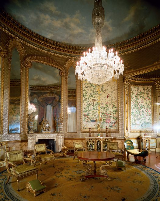 The chinoiserie scheme  in 2010 | Royal Pavilion & Museums Brighton & Hove