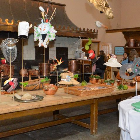 More of Stephen Jones' magical creations displayed in the Great Kitchen | ©Tony Mould