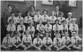 Moulsecoomb Primary School sports team 1956. | Photos were provided by Jane Stewart and Steven Mead