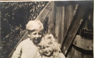 Jack with his sister | Photos provided by Jane Stewart and Steven Mead