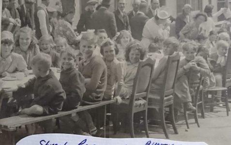Street Party in Whitehawk 1945