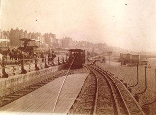 Volks Railway, Brighton, in 1904 | From the private collection of Sam Flowers