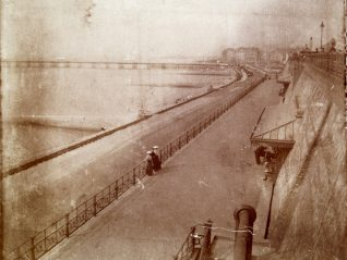 Madeira Terrace, Brighton, in 1904  | From the private collection of Sam Flowers