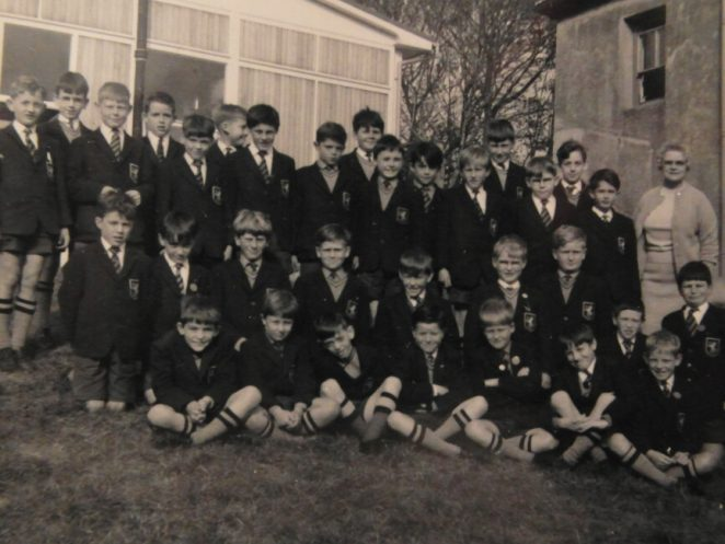This picture shows the Prep class in what was the last year in which Xaverian College was in being and at Queens Park. The following year in September 1966 it moved to the Upper Drive in Hove and became De La Salle College. | From the private collection of Michael Hearn