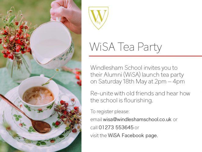Windlesham school alumni tea party   Windlesham School