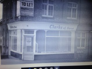 Clarks bakers shop. | From the private collection of Michael Clark