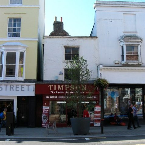 Timpsons shop at 15 North Street | ©Simon Carey : Creative Commons Licence