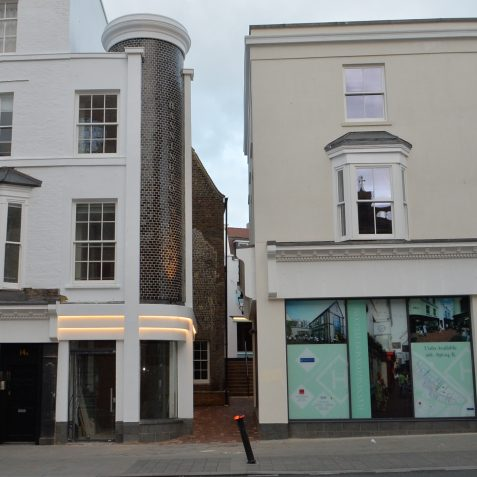 Hannington Lane is now open | ©Tony Mould : My Brighton and Hove