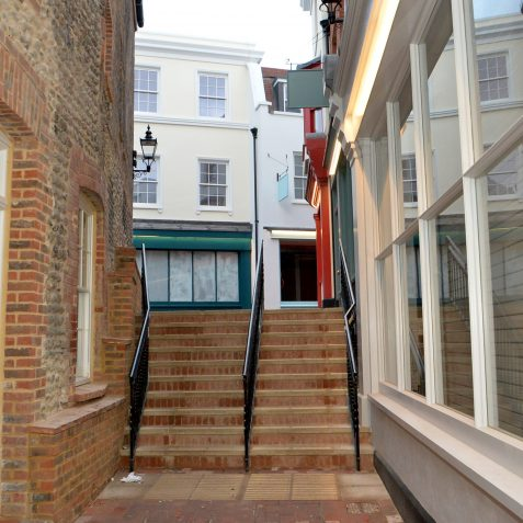 Hannington's Lane stairs | ©Tony Mould : My Brighton and Hove