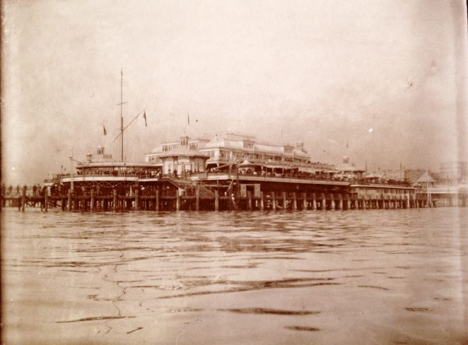 West Pier, Brighton, 1904 | From the private collection of Sam Flowers