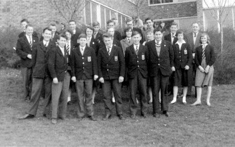 Dorothy Stringer School: End of term 1960