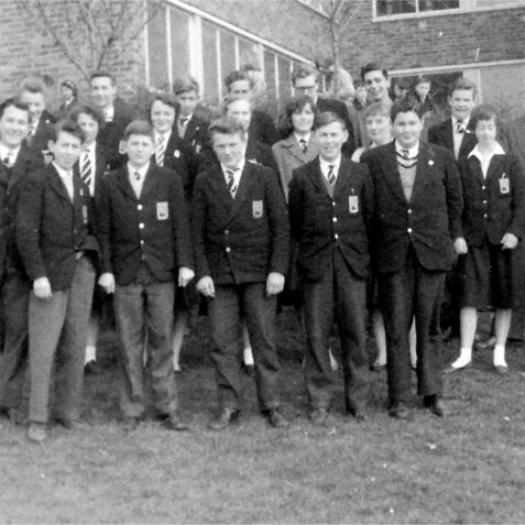 Final day of term 5th form DSS 1960. John  McEnery back row second from left  | Private collection: DonMcBeth
