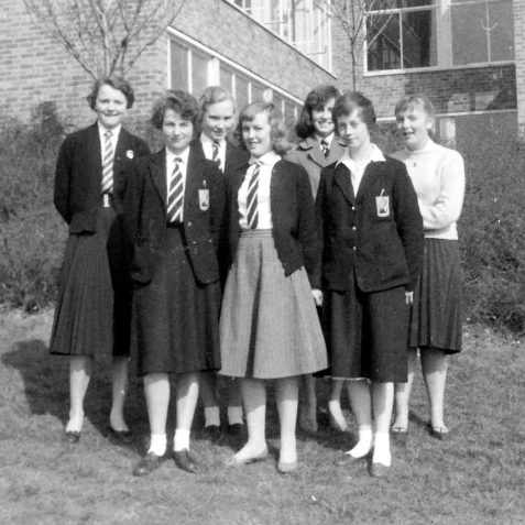 5th form Girls last day of term 1960  | Personal Collection: Don McBeth