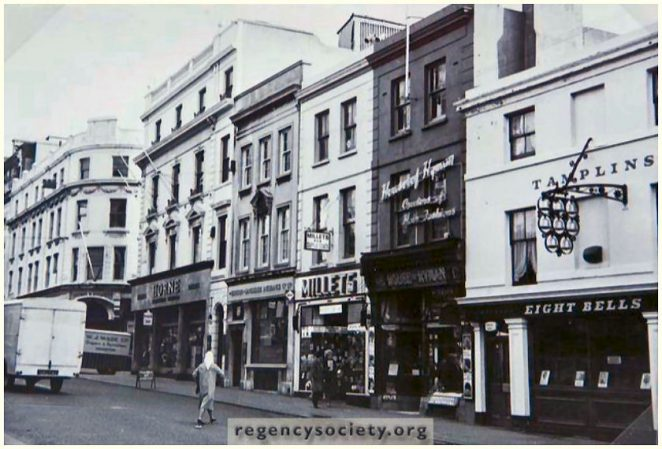 West Street in the early 1960s | Reproduced with the kind permission of the Regency Society
