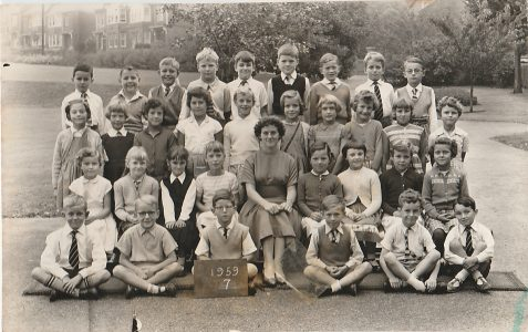 Balfour County Primary School 1959-1961
