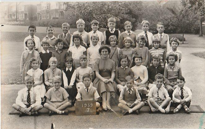 Miss Bisop's class 1959