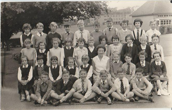 Miss Brogate's class 1960