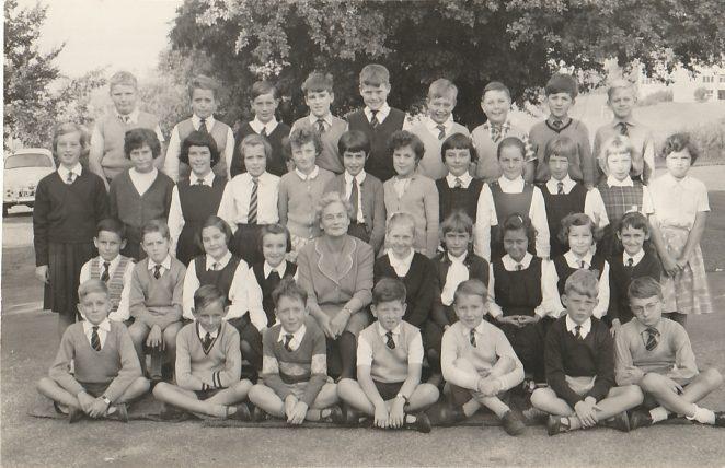 Mrs Moore's class 1961