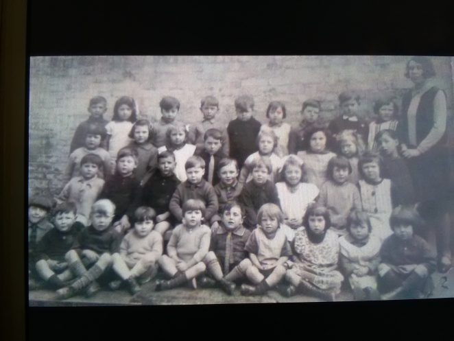 1929 Eileen Thompsett at Elm Grove School