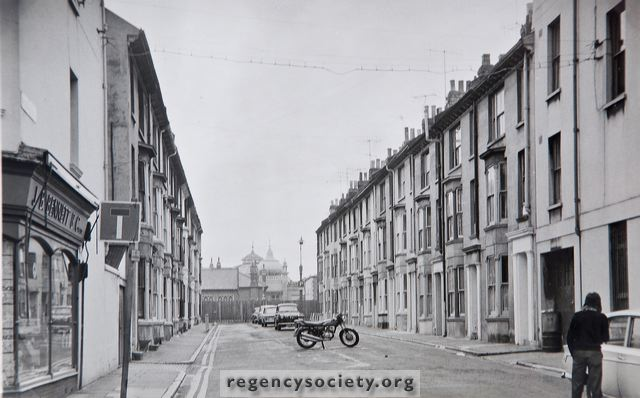 North Place from North Road | Reproduced with the kind permission of the Regency Society