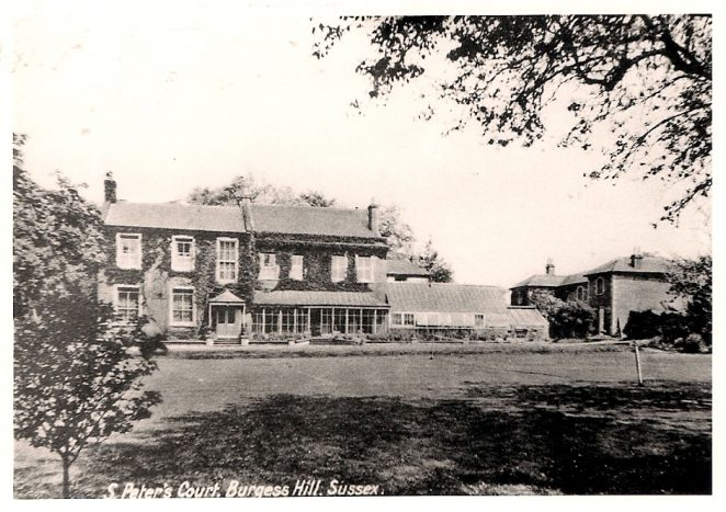 Re: St Peters Court School, Burgess Hill