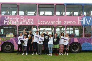 The first bus promoting HIV treatment | Copyright Tony Mould - My Brighton and Hove