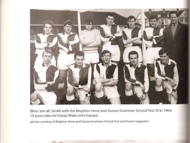 Brighton, Hove and Sussex Grammar School 1st X1 Football Team 1964