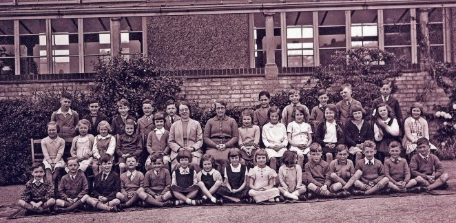 Balfour Road School circa 1936. | Reg Potter