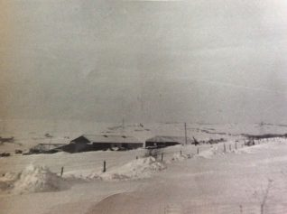 View northwest towards Golf Farm, 30th Dec 1962 | Delia Spink