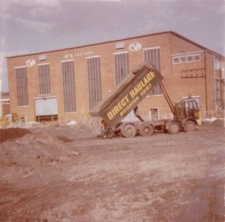 Construction starts on Carden Park c. 1967 (in front of the 1958 CVA/Kearney and Trecker No 6 factory)   From the private collection of Gil Percy