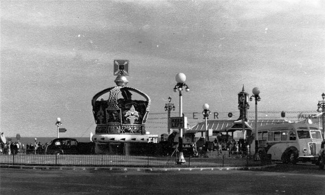 Seafront Coronation installation | Royal Pavilion and Museums Brighton and Hove
