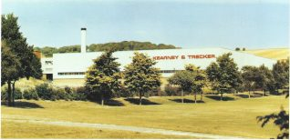The new Kearney and Trecker factory (designated No 8 factory)   From the private collection of Peter Groves