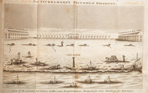 1815 Plan for New Fishery at Hove