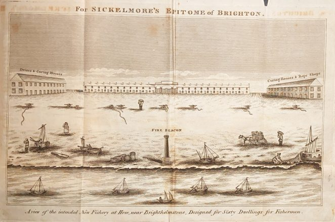 Proposed New Fishery at Hove | From the book Epitome of Brighton, copy owned by Peter Groves