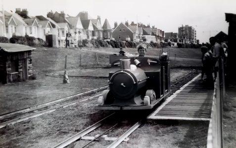 Childrens train ride.