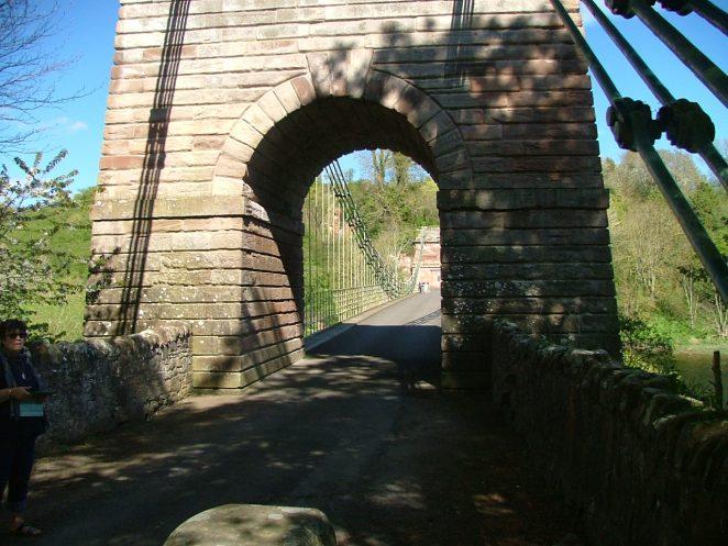 Union Bridge from England.