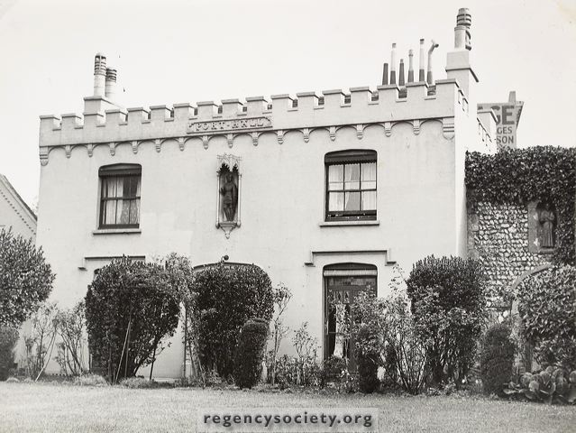 Undated photograph of Port Hall | Courtesy of James Gray collection: The Regency Society