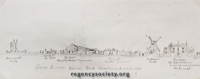 Port Hall | Courtesy of James Gray collection: The Regency Society