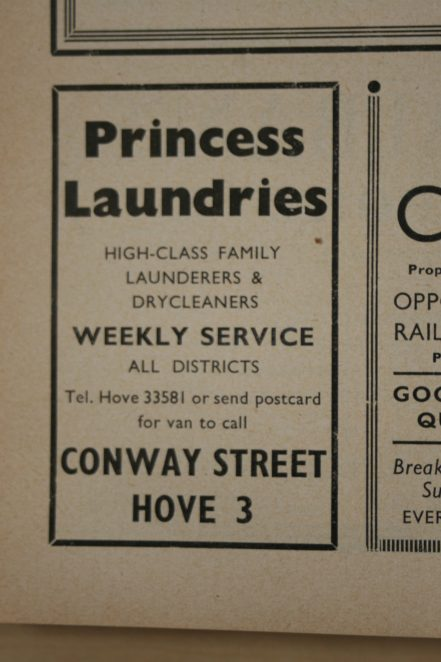 Re: Laundries in Brighton and Hove