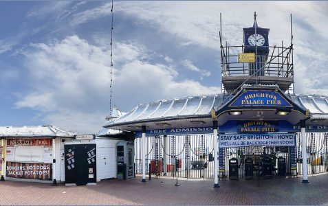 Brighton Palace Pier: Stay Safe, Brighton & Hove, we'll all be back together soon