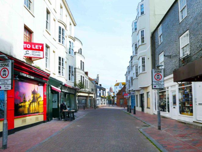 Market Street Saturday morning | Ron Fitton