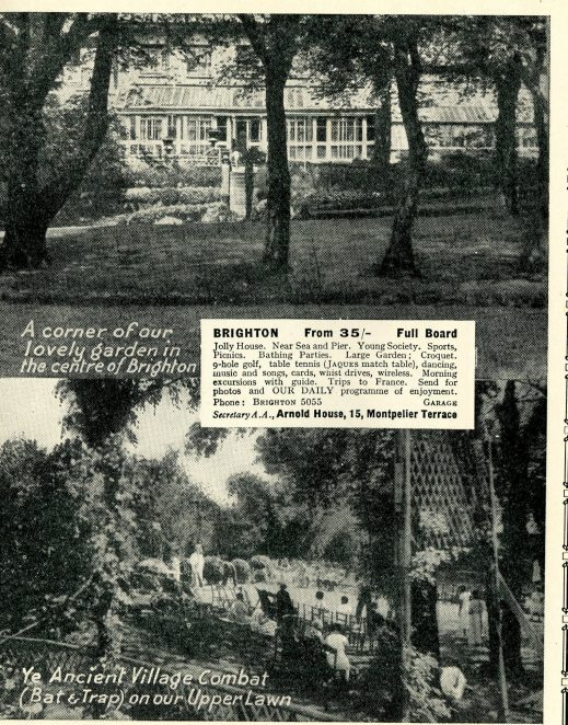 Arnold House Hotel 1935-36 cropped