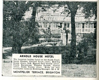 Arnold House Hotel 1947-48