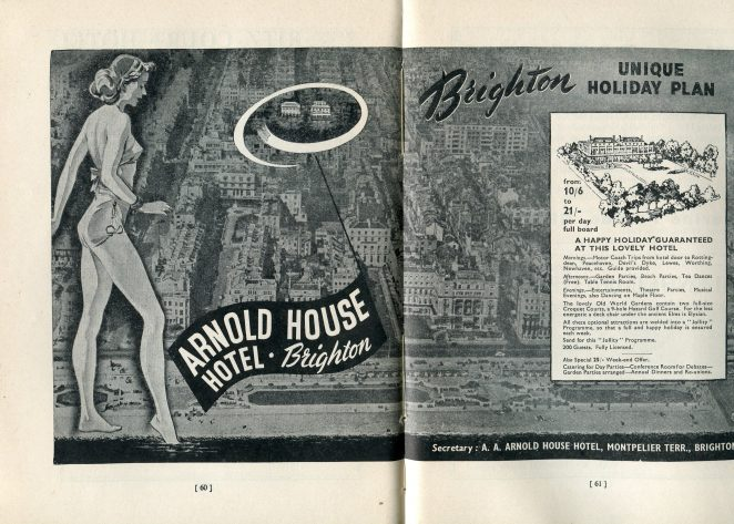 Arnold House Hotel 1948-49