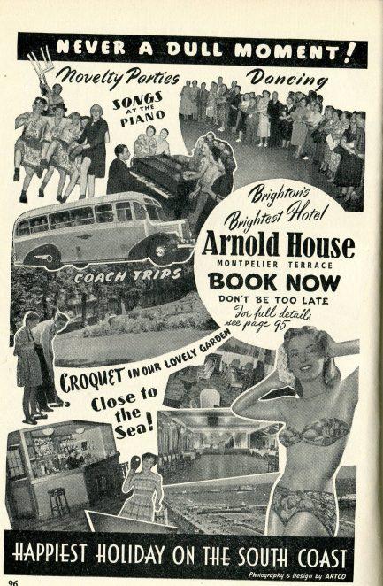 Arnold House Hotel Summer 1951