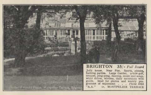 Arnold House 1932-33