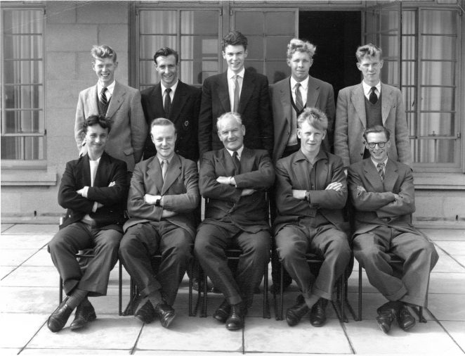 First Apprentice Intake, Group photo 1955 at Brighton B Power Station | From the private collection of John Gasston
