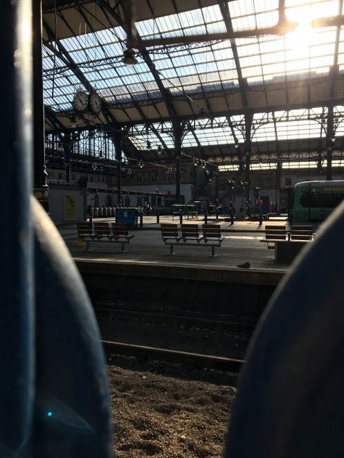 Deserted Brighton station platforms, Spring 2020, at rush hour on a Wednesday | Chloe Daniels